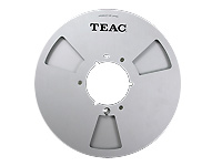 Teac Empty Metallic Reel