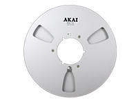 Akai Empty Metallic Reel