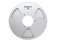 Sony Empty Metallic Reel