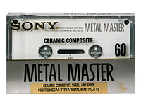 Sony Ceramic Metal Master C60