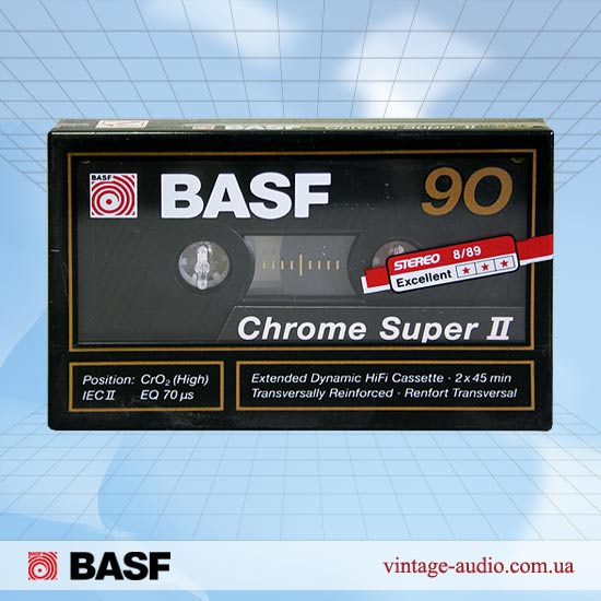 BASF Chrome Super II C90