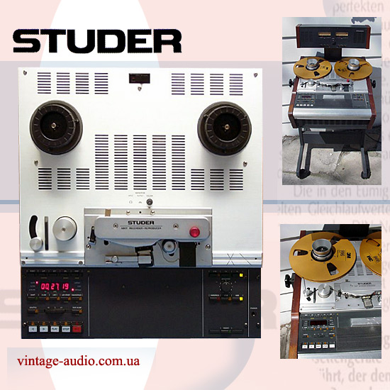 Studer A-807 MKII