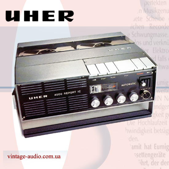 Uher 4000 Report IC